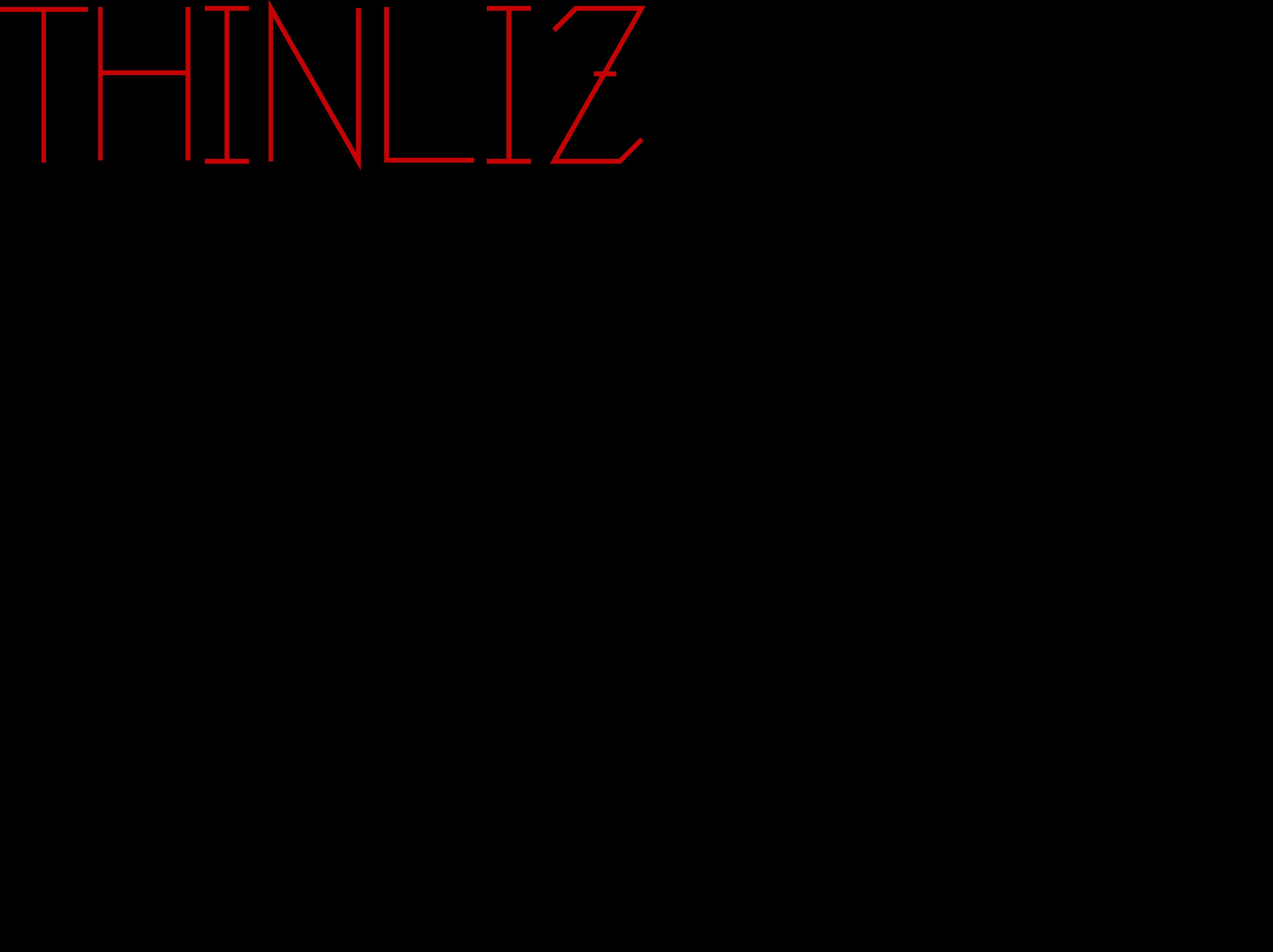 single line font