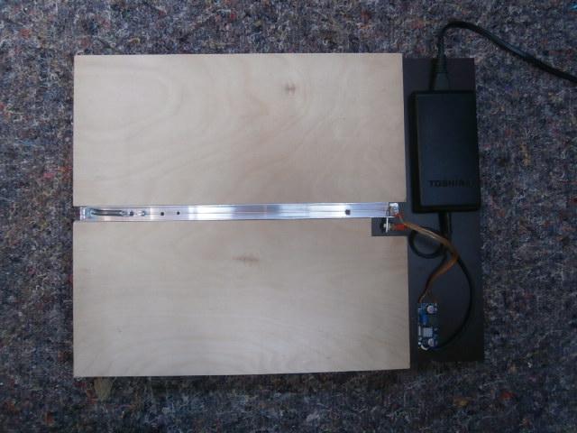 Warmbiegegerät (Grundplatte, heizelement, Stromversorgung)