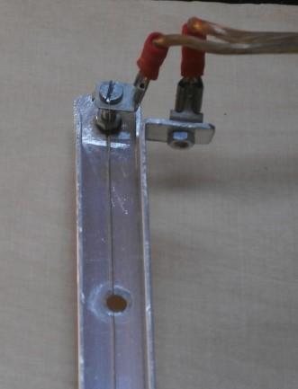 Warmbiegen - Stromanschlüsse (links: isoliert)